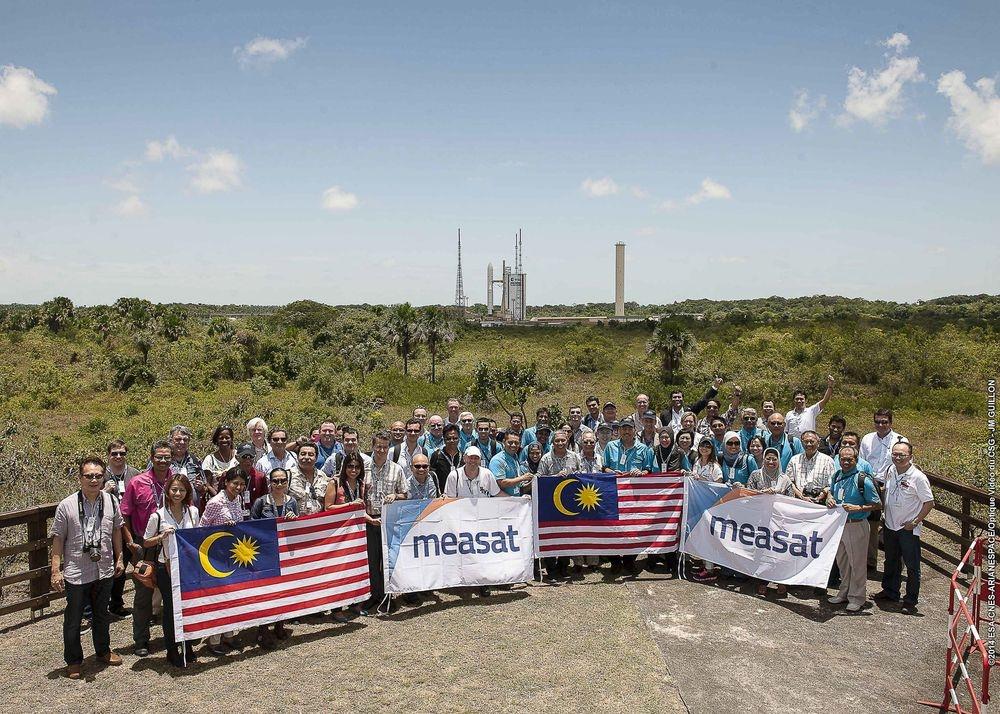 Lancé en 2018, Hylas-4 est un satellite britannique au service des pays africains