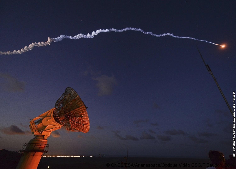 Antenne de télémesure de la Montagne des pères à Kourou