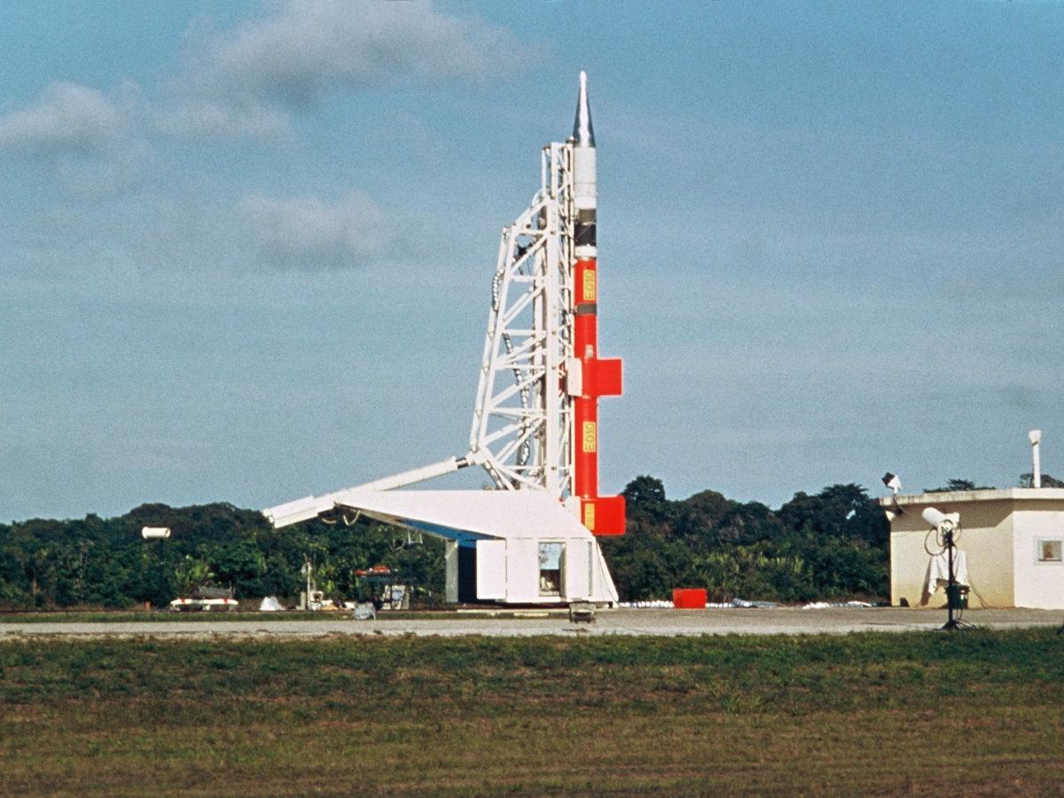Fusée-sonde Dragon au CSG
