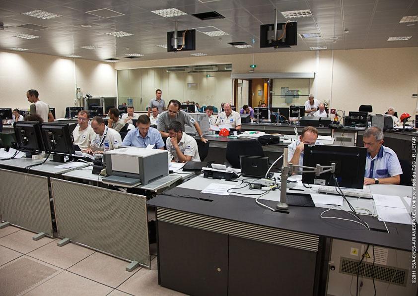 Opérations en cours au centre de lancement Soyouz