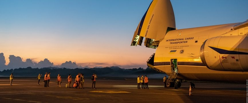 VA255 : les opérations de préparation au lancement