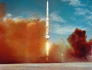 Lancement du lanceur Diamant B-2