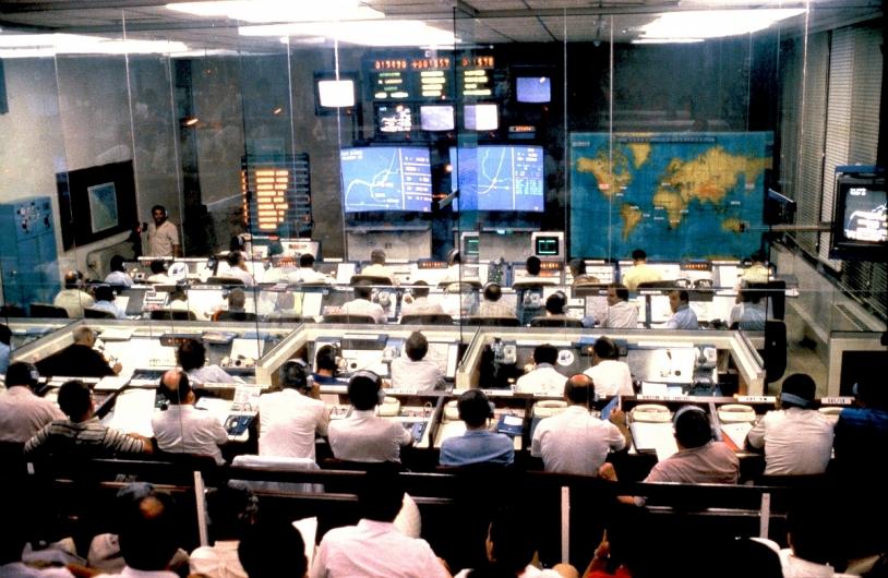 Centre de contrôle Jupiter 1 - 1980